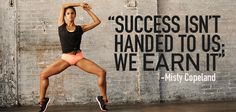 """""""Success isn't handed to us: We earn it!"""" - Misty Copeland Fights And WINS Against All Odds"""