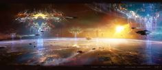 theverge:This is some of the spectacular science fiction concept art for Jupiter Ascending.
