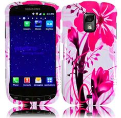 Buy For Samsung Galaxy S Lightray 4G R940 Hard Design Cover Case Pink Splash NEW for 3.99 USD | Reusell
