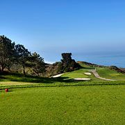 Torrey Pines Golf Course sits on the coastal cliffs overlooking the Pacific Ocean. It has two of the most picturesque championship 18-hole golf courses in the world. #sandiego #golf