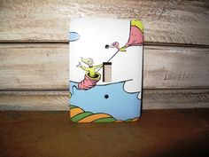 Dr. Seuss Switch Plate by HawkesHollow on Etsy