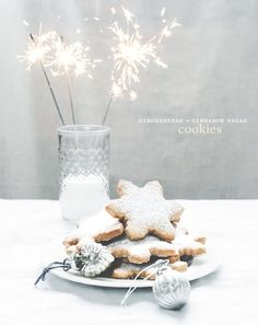 Gingerbread + cinnamon sugar cookies - Chantelle Grady
