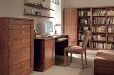 Bigger BRW Home Office (Library). It is an exceptional choice for those who appreciate timeless combination of elegance and functionality . This modern form of the refined classics. This furniture refer to the formulas of the past. Polish BRW Modern Furniture Store in London, United Kingdom #furniture #polish #brw #homeoffice