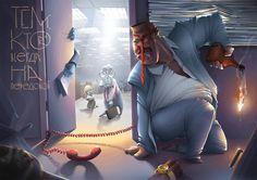 Illustration by Nikita Bulatov, via Behance