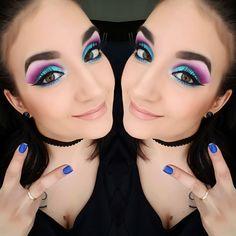 #maquillage #makeup #mua #coloré #look #eyes #eyeshadows #look #love