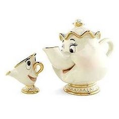Mrs Potts & Chip...I would love to have this!