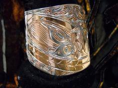 Copper Haida Dragonfly with Fairy on 6 inch by ThruHaidaEyes, $800.00