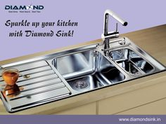 Why Diamond? Log on to www.diamondsink.in  #SteelSink #SteelKitchenSink #Sink #Kitchen #KitchenSinks #DiamondSinks