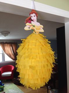 Piñata princesa Disney la Cenicienta por BobbiGirlBoutique en Etsy