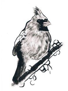 Watercolor Paper, Watercolor Paintings, Original Paintings, Black Ink Art, Moose Art, Etsy Shop, Draw, Art Prints, Winter