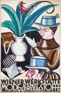 Mathilde Flögl war Kunsthandwerkerin, Designerin und Gewerbelehrerin und war bis 1932 für die Wiener Werkstätte (WW) tätig. 👁️ Für die Ausstellung DIE FRAUEN DER WIENER WERKSTÄTTE (27.5. – 20.9.2020) sind wir auf der Suche nach weiteren Informationen. Wenn euch zu den Künstlerinnen (Namensliste unter MAK.at/frauenderww) etwas einfällt dann meldet euch bitte unter frauenderww@MAK.at.