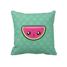 Cute Kawaii Watermelon Pillow