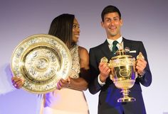 Your 2015 Singles' Champions - Serena Williams & Novak Djokovic. Wimbledon 2015. https://www.missionmainstreetgrants.com/