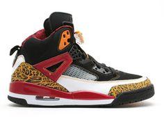 Air Jordan Spizike Black/White-Varsity Red-Radiant Yellow