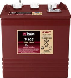 Trojan Solar SSIG 06 255 Battery Priced Outright NO CORE CHARGE With its low initial cost and 3 - 5 year life, it serves well for all manner of golf carts. A good learning battery. like training wheels Rv Battery, Golf Cart Batteries, Camping Humor, Interior Lighting, Rv Interior, Rv Campers, Vintage Trailers, Rv Travel, Golf Carts