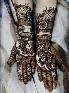 40 Most Amazing Arabic Mehndi Designs – Latest Collection