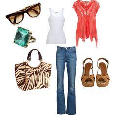 Casual Weekend Style...Love it!!!
