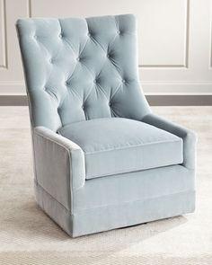 remus tufted swivel chair