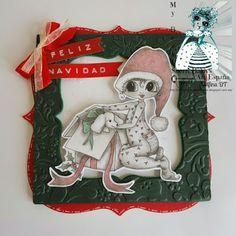 Delfina scrapbook y más...: Navidad anticipada... My Besties España