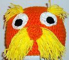 Crochet Dr. Seuss THE LORAX Hat Child Teen Adult Beanie Character Handmade Gift