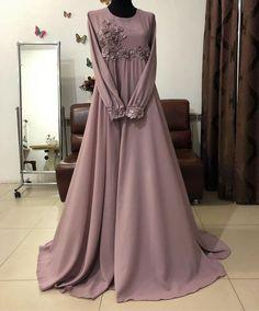 Frock Fashion, Abaya Fashion, Muslim Fashion, Party Fashion, Fashion Dresses, Hijab Dress Party, Hijab Style Dress, Abaya Designs, Abaya Mode