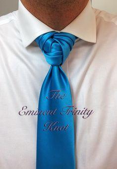 Knot by Boris Mocka Cool Tie Knots, Cool Ties, Tie The Knot Wedding, Wedding Suits, Wedding Wear, Sharp Dressed Man, Well Dressed Men, Knot Dress, Men Dress