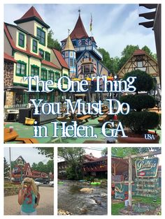 Trade the Alps for the Appalachians and youll find the tiny charm-packed town of Helen Georgia nestled in the Blue Ridge Mountains along the Chattahoochee River. Europe Destinations, Helen Georgia, Helen Ga, Travel Guides, Travel Tips, Travel Hacks, Travel Advice, Road Trip Usa, United States Travel