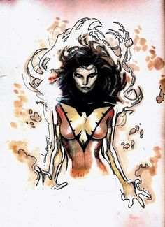 Dark Phoenix by Olivier Coipel