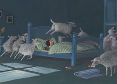 Gerhard Gluck counting sheep