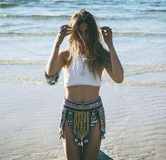 Native skirt.