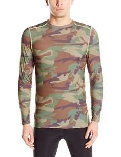 Wolverine Men's Performance Baselayer Long Sleeve Shirt *** You can get more details here : Camping clothes