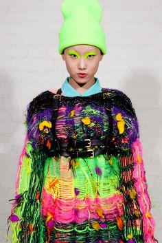 Jylle Navarro neon knits