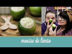 Mousse de Limão servido no limão (receita fácil feita com 3 ingredientes)   Cozinha para 2 - YouTube