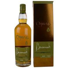 Benromach Organic 2010/2015 aus frischen Eichenfässern! 46,90 € Herkunftsland: Schottland  ◾Typ: Single Malt Whisky   ◾Brennerei/Marke: Benromach  ◾Abfüller: Eigentümer-Abfüllung   ◾Alter: Ungefähr 5 Jahre   ◾Fasstyp: Virgin Oak   ◾Rauchigkeit: Rauchig  ◾Kühlfilterung: Kühlgefiltert  ◾Farbstoff: Ohne Farbstoff   ◾Destillationsdatum: 2010  ◾Abfülldatum: 2015