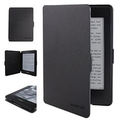 """Inateck Compact Kindle Paperwhite Cover Microfibril PU Leather Travel Protective Case Cover - Sleep Mode Control Through Magnetic Induction for New 2014 & 2013 & 2012 Amazon Kindle Paperwhite 6"""" 3G / Wi-Fi + 3G - Simple & Lightweight - Black (will only fit Amazon Kindle Paperwhite) Inateck http://www.amazon.com/Inateck-Compact-Paperwhite-Microfibril-Protective/dp/B00JP7R85E/ref=aag_m_pw_dp?ie=UTF8&m=A38DTMRT3PPIO7"""