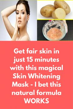 Get fair skin in just 15 minutes with this magical Skin Whitening Mask - I bet this natural formula WORKS Today I am sharing secret skin whitening mask which is pure natural, there will no side effects or chemicals. In the market, you can find the bunch of whitening cream but they are expensive and contains the chemical which is not good for regular use. So here is the natural skin whitening mask recipe- Ingredients- … #SkinCareMasks #SkinWhiteningNatural #CharcoalMaskBenefits