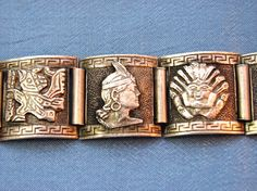 Solid sterling carved panels, quality silver as are all the older peruvian pieces. Stamped Peru sterling I have another one listed that is slightly longer. Silver Bracelets, Silver Earrings, Silver Jewelry, Watch Bands, 925 Silver, Jewelery, Peru, Ebay, Accessories