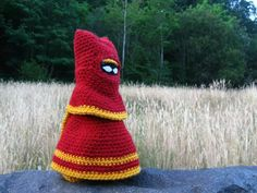 Traveler from the game Journey made by http://www.facebook.com/fullmooncrochet