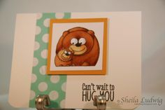 sajludwig: L'il Hoots Bears - Hero Arts, Copics, Copic Markers, Stampin' Up