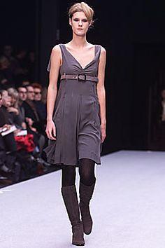 Alberta Ferretti Fall 2001 Ready-to-Wear Fashion Show - Lisa Ratliffe, Alberta Ferretti