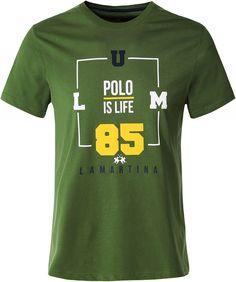La Martina Mens Regular Fit Crew Neck Olmi T-Shirt Black