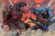 Shin Godzilla vs Godzilla 2014