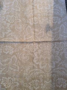 French country shabby chic Linen fabric by Cowtan and Tout pattern Cranworth. $12.00, via Etsy.