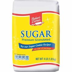 ALDI Baker's Corner Sugar - 4 lb. bag for $1.69