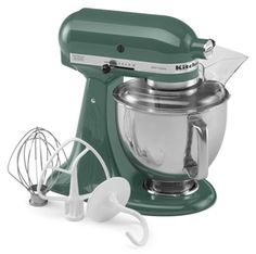 KitchenAid 5-Quart Tilt-Head Artisan Series Stand Mixer KSM150PSER. In Bayleaf. $349.00