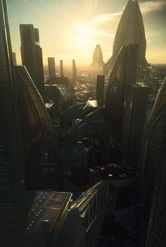 ArtStation - Sunset Fiction, Efflam Mercier