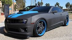 2013 Chevrolet Camaro 1SS Built By West Coast Customs presented as lot S35 at Anaheim, CA 2015 - image1