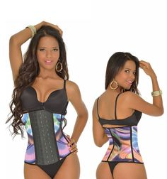 22da1a6db1 Beach Side Waist Shaper Deluxe Sport Deluxe 3 Hook Print NEW Collection Long  Torso Ideal for excising