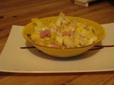 Une petite salade d'endive appétissante...