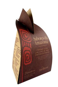 Brazilian exclusive chocolate producer Damazonia commissioned local design agency Ekoara to design its packaging design. http://creativeroots.org/2011/07/brazilian-amazonian-chocolate-packaging/